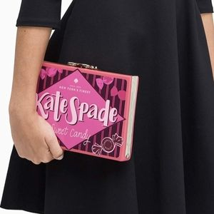 New Kate Spade Candy Wrapper Clutch